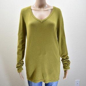 CAbi  Style#622 Green Lightweight Soft Sweater